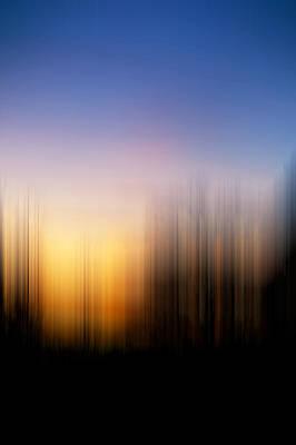 Photograph - Sunset Blur by Pam  Elliott