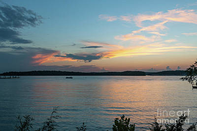 Photograph - Sunset Boat Dreaming by Dale Powell