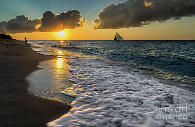 Photograph - Sunset Boracay by Adrian Evans