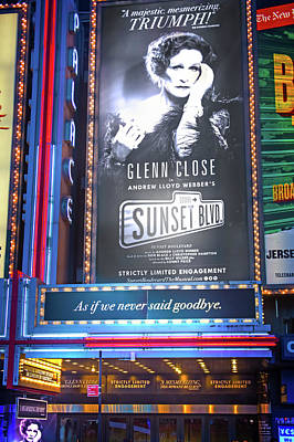 Broadway Photograph - Sunset Boulevard On Broadway by Mark Andrew Thomas
