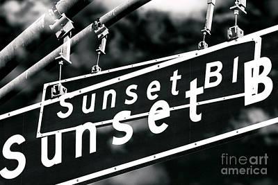 Photograph - Sunset Boulevard Two Times by John Rizzuto