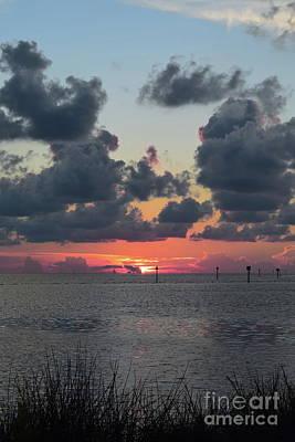 Photograph - Sunset B.p.st. Park 68 by Expressionistart studio Priscilla Batzell