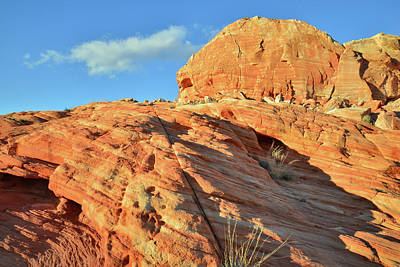 Photograph - Sunset Butte In Valley Of Fire by Ray Mathis