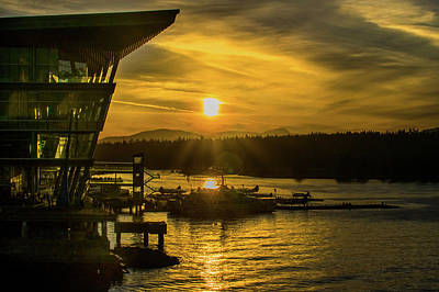 Photograph - Sunset By The Convention Centre by Ross G Strachan