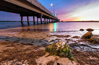 Photograph - Sunset By The Drawbridge by Fran Gallogly