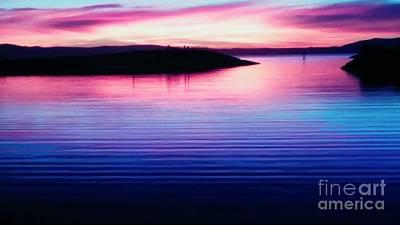 Photograph - Sunset Celenade by Kumiko Mayer