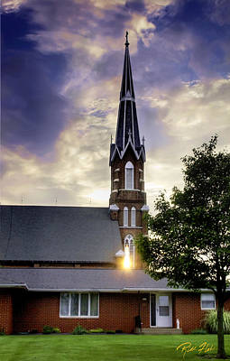 Photograph - Sunset Church by Rikk Flohr