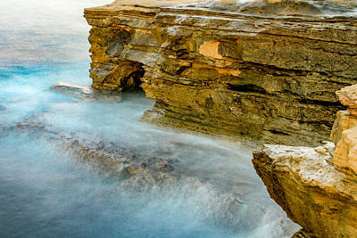 Abstract Airplane Art - Sunset Cliffs by Bill Gallagher