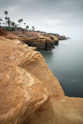 Photograph - Sunset Cliffs Coastline by William Dunigan