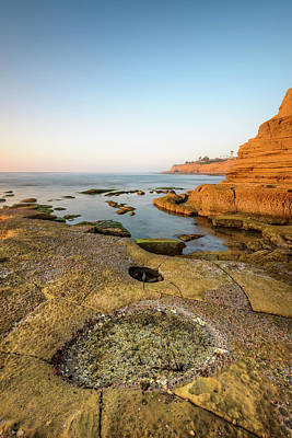 Photograph - Sunset Cliffs Glow by Alexander Kunz