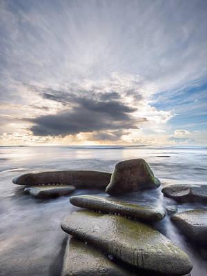Photograph - Sunset Cliffs - Lineup by Alexander Kunz
