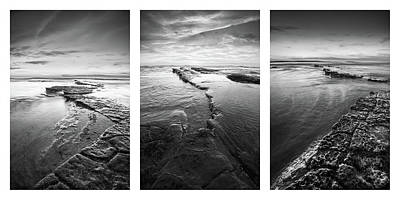 Photograph - Sunset Cliffs - Low Tide Collage by Alexander Kunz