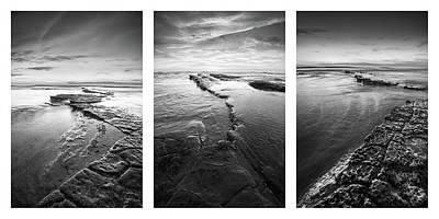 Photograph - Sunset Cliffs - Low Tide Collage by Alexander Kunz