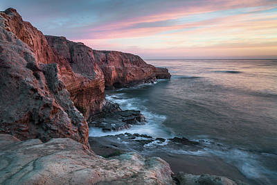 Photograph - Sunset Cliffs - Meditation Point by Alexander Kunz