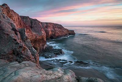 Photograph - Sunset Cliffs - Meditation Point by Alexander Kunz