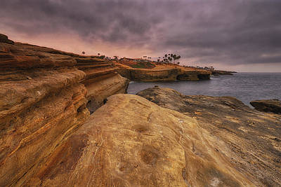 Photograph - Sunset Cliffs - Point Loma - San Diego by Photography  By Sai