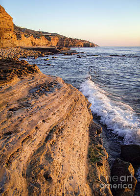 Photograph - Sunset Cliffs, San Diego, California  -74706 by John Bald