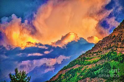 Photograph - Sunset Cloud by Rick Bragan