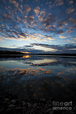 Fine Dining - Sunset Clouds 1 by Dennis Hedberg