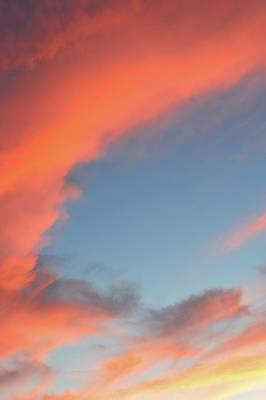 Photograph - Sunset Clouds Above  by Lyle Crump