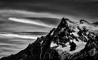 Photograph - Sunset Clouds At Cerro Paine Grande #2 - Chile by Stuart Litoff