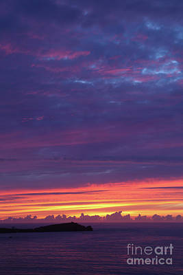 Photograph - Sunset Clouds In Newquay, Uk by Nicholas Burningham