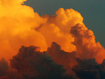 Digital Art - Sunset Clouds by Jana Russon