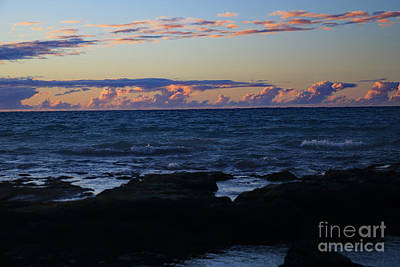 Photograph - Sunset Clouds by Mary Haber