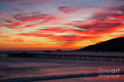 Photograph - Sunset Clouds Over Avila Beach by Mimi Ditchie