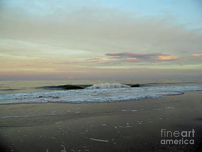 Photograph - Sunset Clouds Over The Atlantic by D Hackett