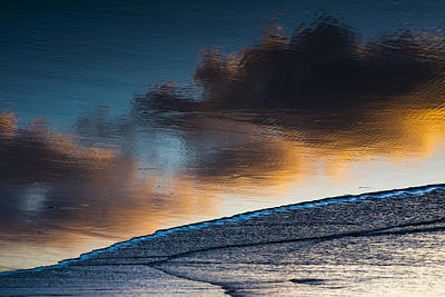 Photograph - Sunset Clouds Reflect by Robert Potts