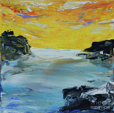 Painting - Sunset Coast by Alys Caviness-Gober