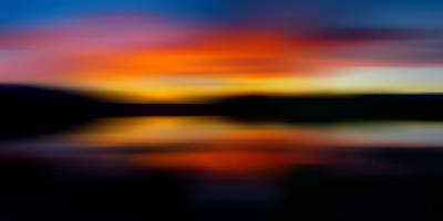 Photograph - Sunset Colors - Impressionistic by TL Mair