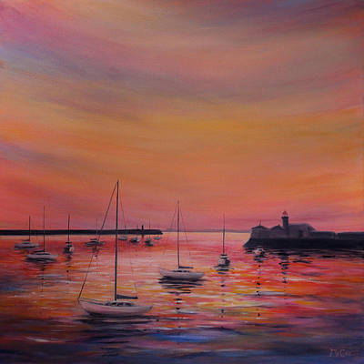 Painting - Sunset Colours by K McCoy
