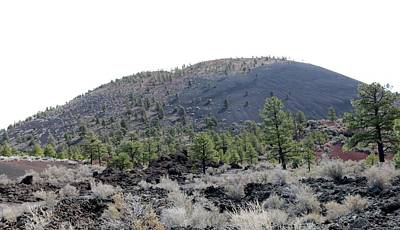 Photograph - Sunset Crater Volcano National Monument - 8 by Christy Pooschke