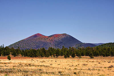 Volcano Photograph - Sunset Crater Volcano National Monument by Christine Till