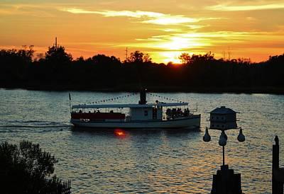 Photograph - Sunset Cruise by Cynthia Guinn