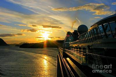 Photograph - Sunset Cruise by Frank Townsley
