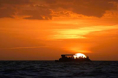 Photograph - Sunset Cruise II by Daniel Woodrum