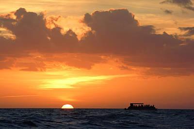 Photograph - Sunset Cruise IIi by Daniel Woodrum