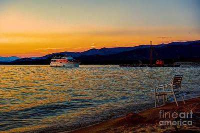 Photograph - Sunset Cruise by Joe Lach
