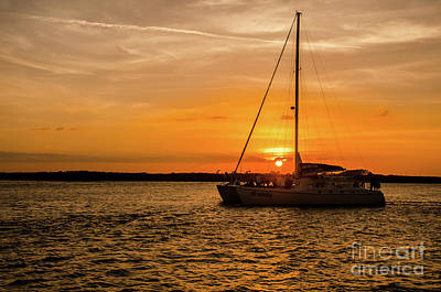 Photograph - Sunset Cruise by Paul Mashburn