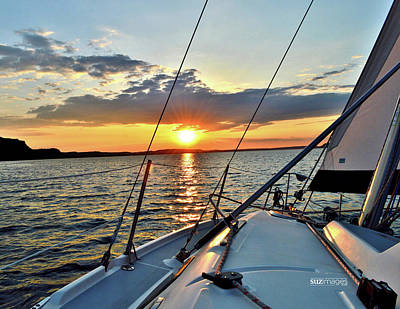 Photograph - Sunset Cruise by Susie Loechler
