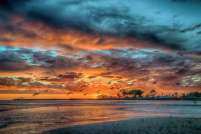 Photograph - Sunset Dana Point Ca_7r2_dsc3300_17-01-17 by Greg Kluempers