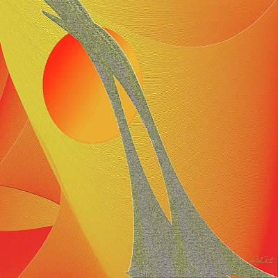 Digital Art - Sunset Dance by Michele Avanti