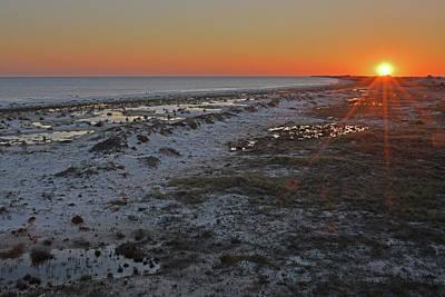 Photograph - Sunset Dauphin Island, Ga by Alan Lenk