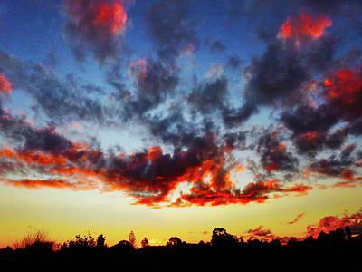 Photograph - Sunset Diabolique by Mark Blauhoefer