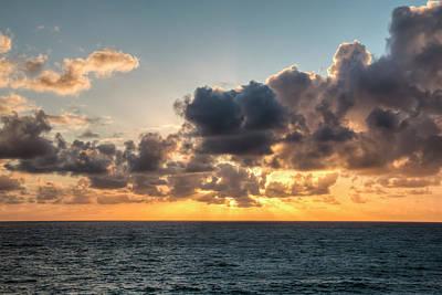 Coastal Landscape Photograph - Sunset Drama by Kristina Rinell