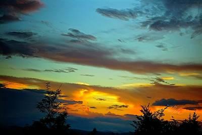 Photograph - Sunset Drama by Meta Gatschenberger