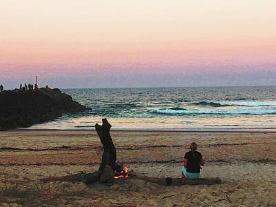 Photograph - Sunset Dreaming by Ankya Klay